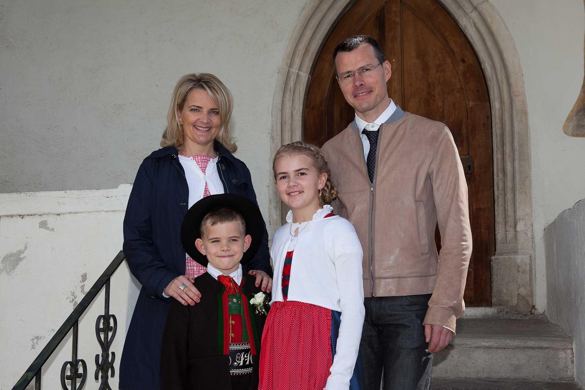 Familie Haller Schweigl